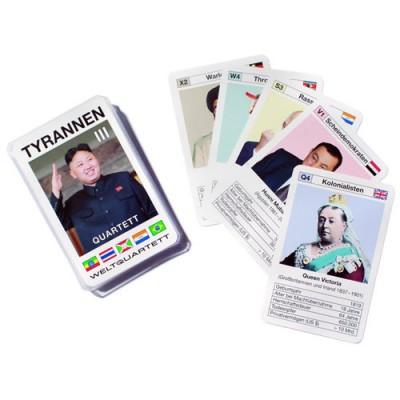 Diktator Quartett Kartenspiel