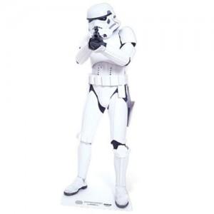 Star Wars Stormtrooper Pappaufsteller