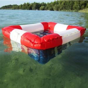 Schwimmender Bierkastenkühler