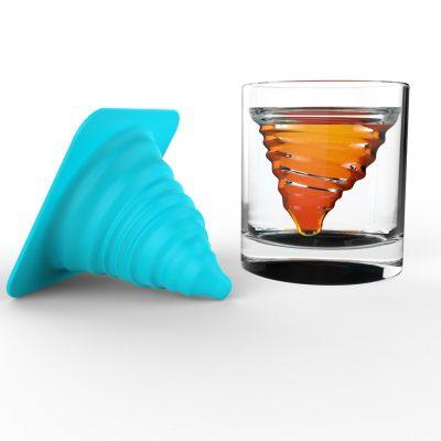Tornado Eiswürfel & Whiskeyglas
