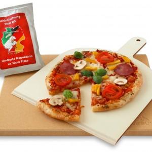 Pizzastein – Profi Pizza zu Hause