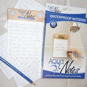 Wasserfester Notizblock