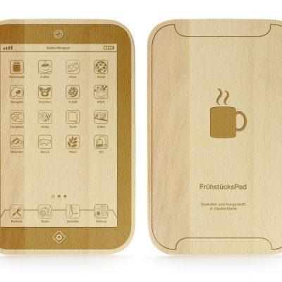 iPad Frühstücks- und Schneidebrett
