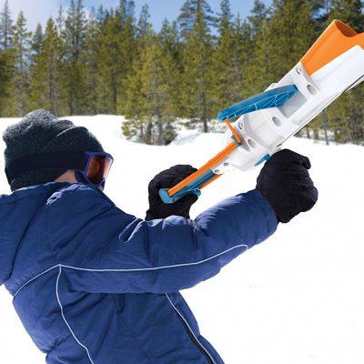 Schneeball Kanone