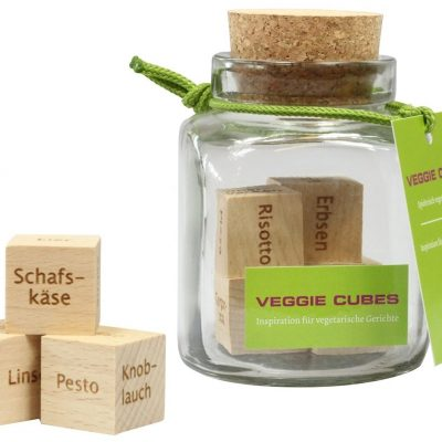 45.000 vegetarische Rezeptideen – Veggie Cubes