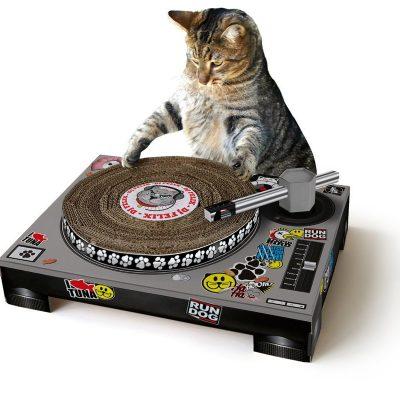 Katzen DJ Kratzspielzeug