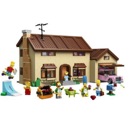 Simpsons Lego Haus