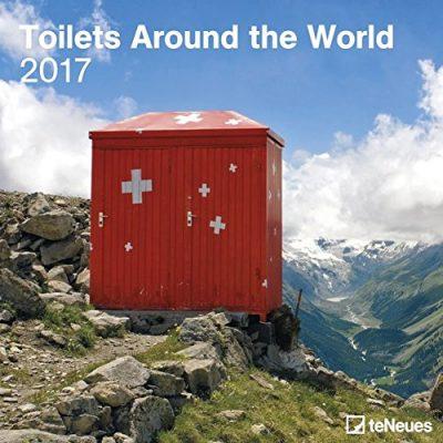 Toiletten Fotokalender 2017