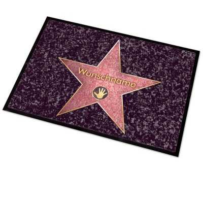 Hollywood Walk of Fame Fußmatte