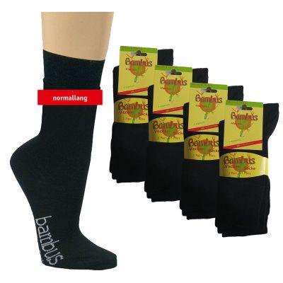 12 Paar Bambus Socken